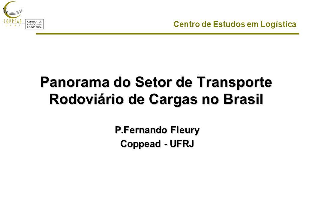 Panorama do Setor de Transporte Rodoviário de Cargas no Brasil