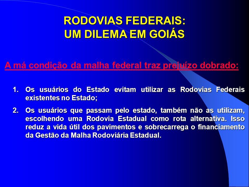 RODOVIAS FEDERAIS: UM DILEMA EM GOIÁS