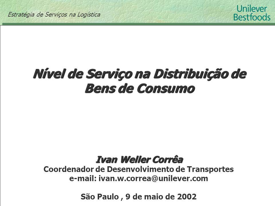 Nível de Serviço na Distribuição de Bens de Consumo