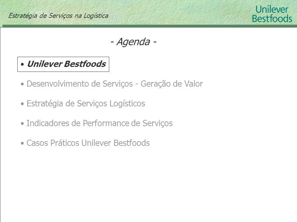 - Agenda - Unilever Bestfoods