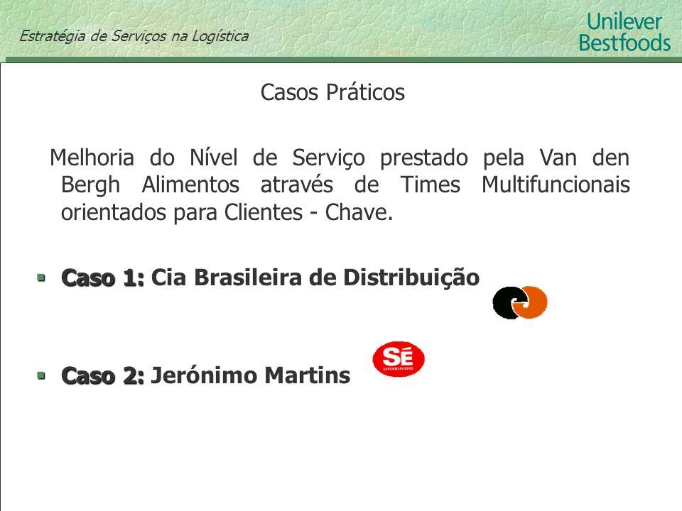 Caso 1: Cia Brasileira de Distribuição