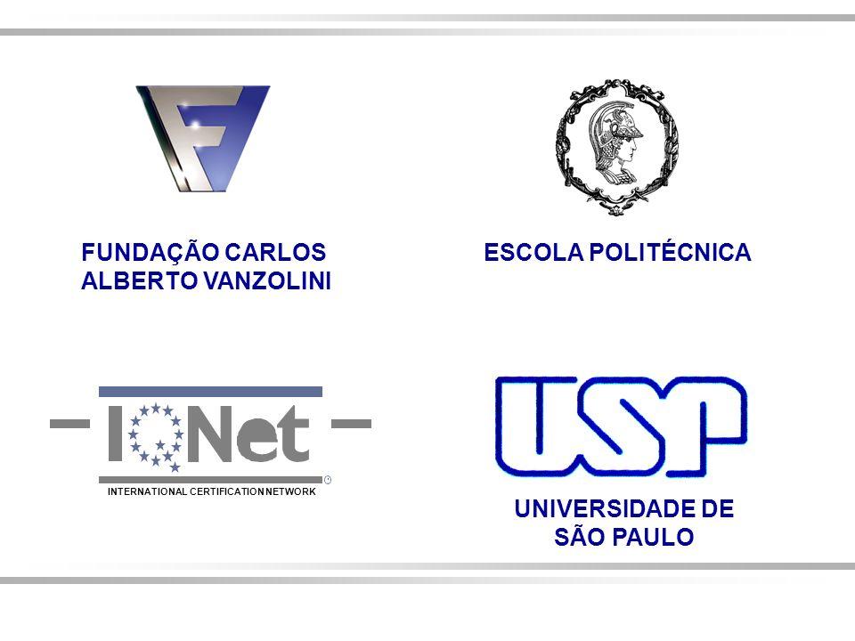 FUNDAÇÃO CARLOS ALBERTO VANZOLINI ESCOLA POLITÉCNICA UNIVERSIDADE DE
