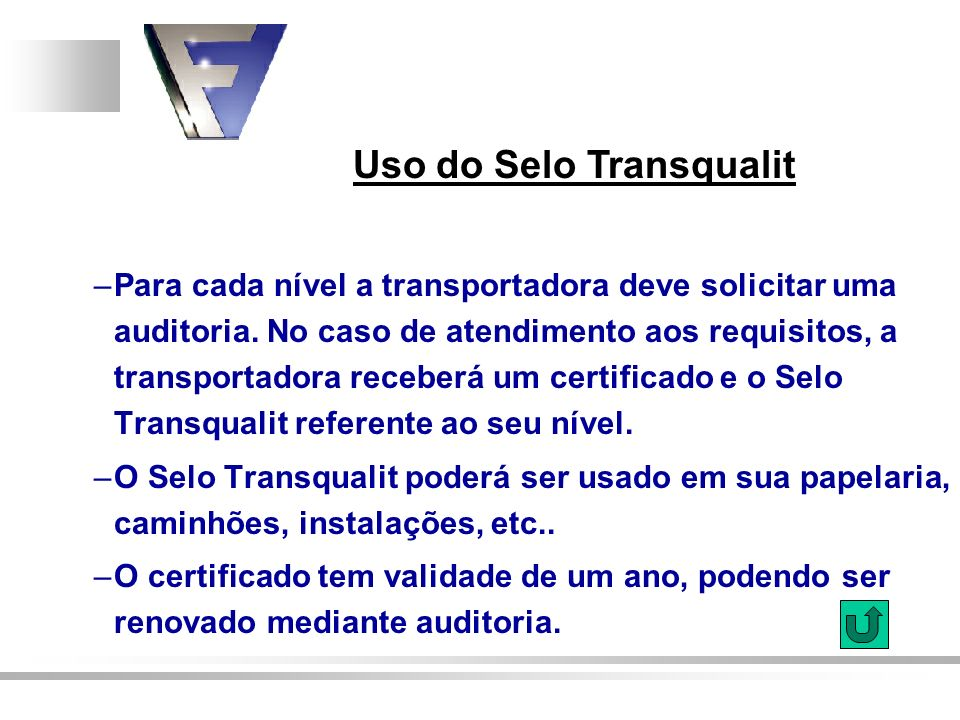 Uso do Selo Transqualit