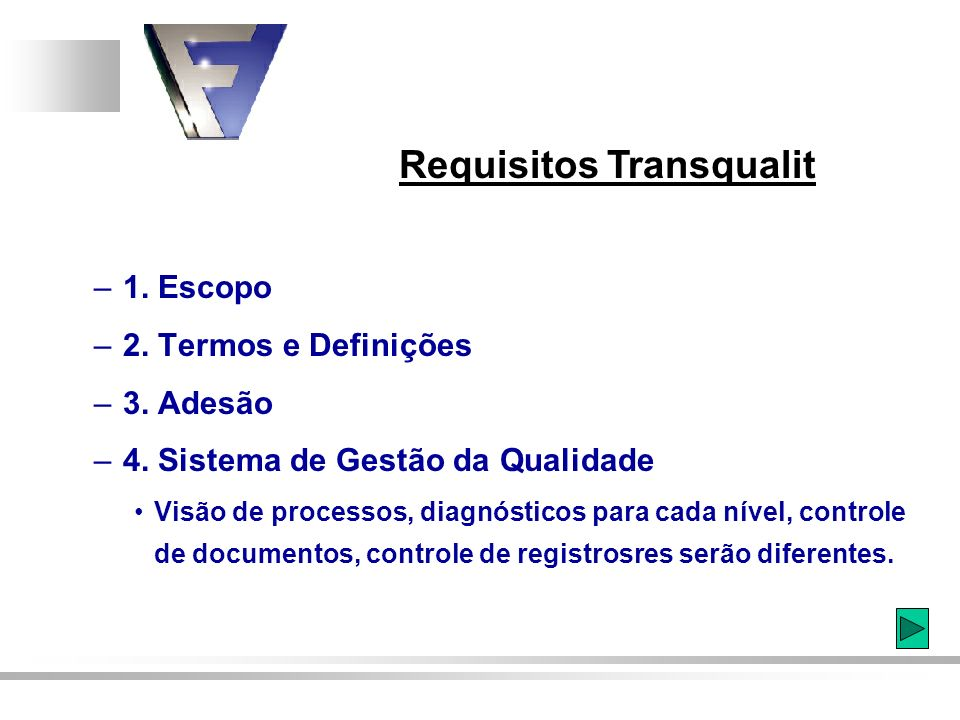 Requisitos Transqualit