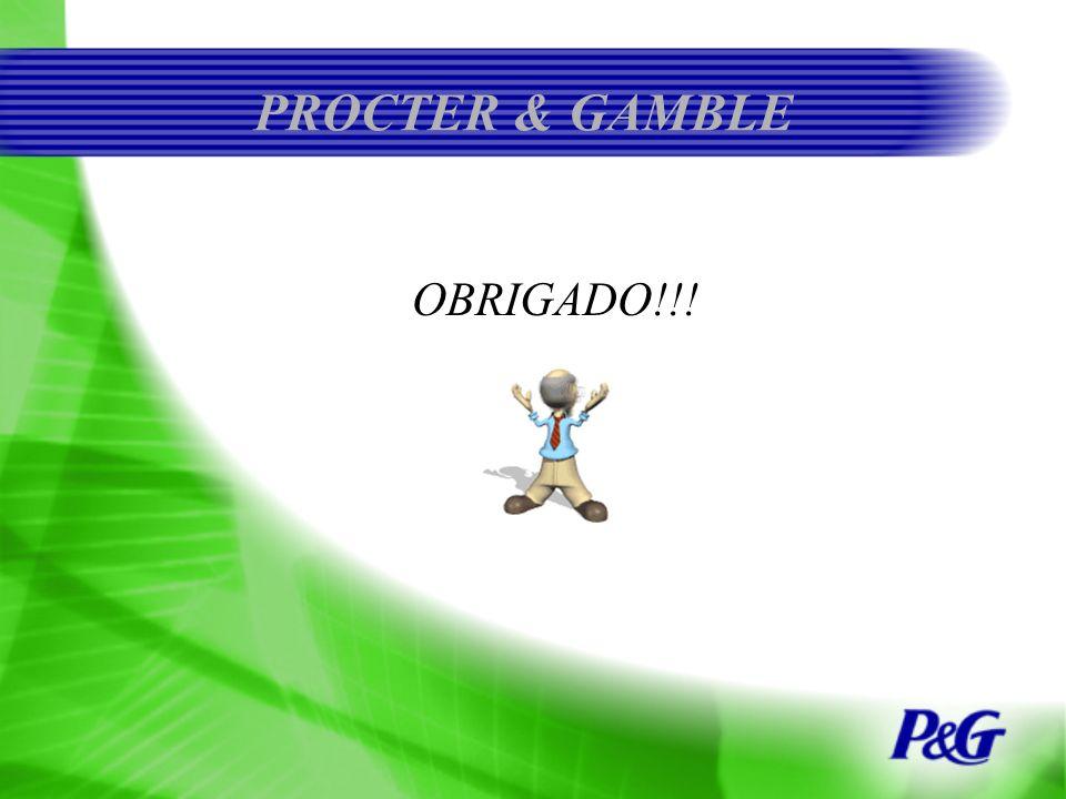 PROCTER & GAMBLE OBRIGADO!!!
