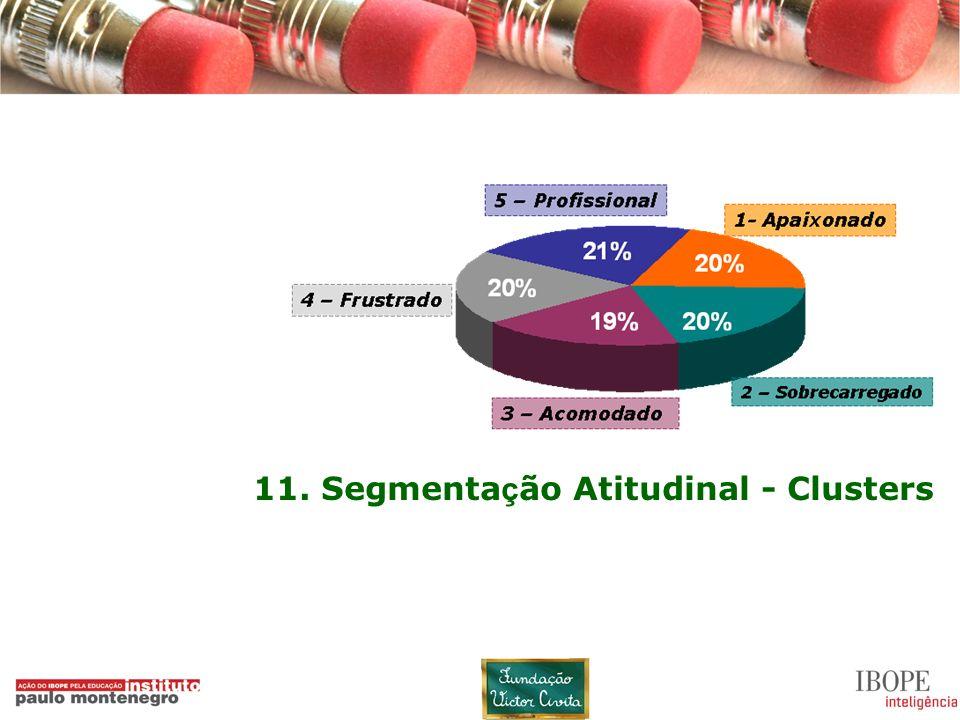 11. Segmentação Atitudinal - Clusters