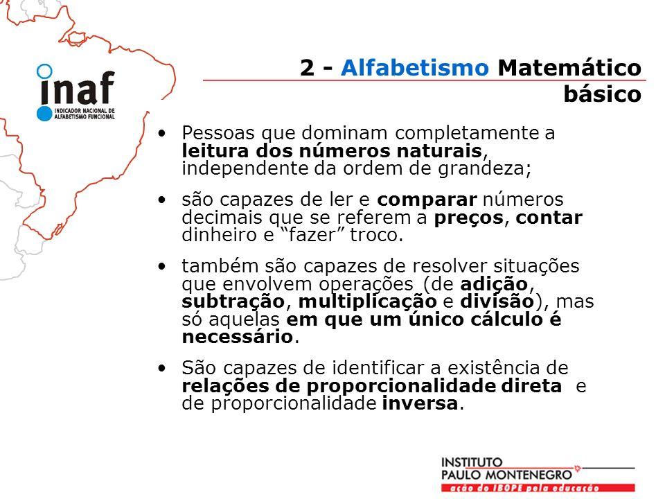 2 - Alfabetismo Matemático básico