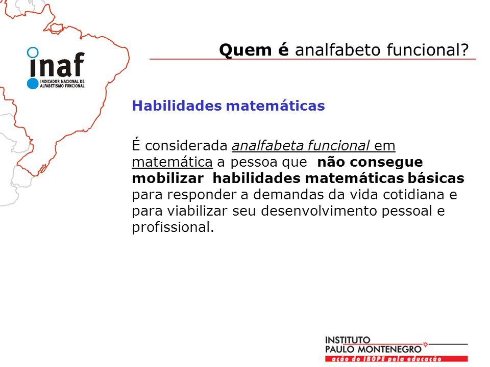 Quem é analfabeto funcional