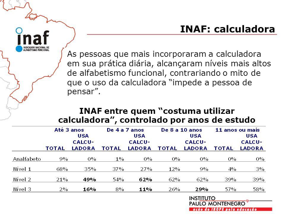 INAF: calculadora