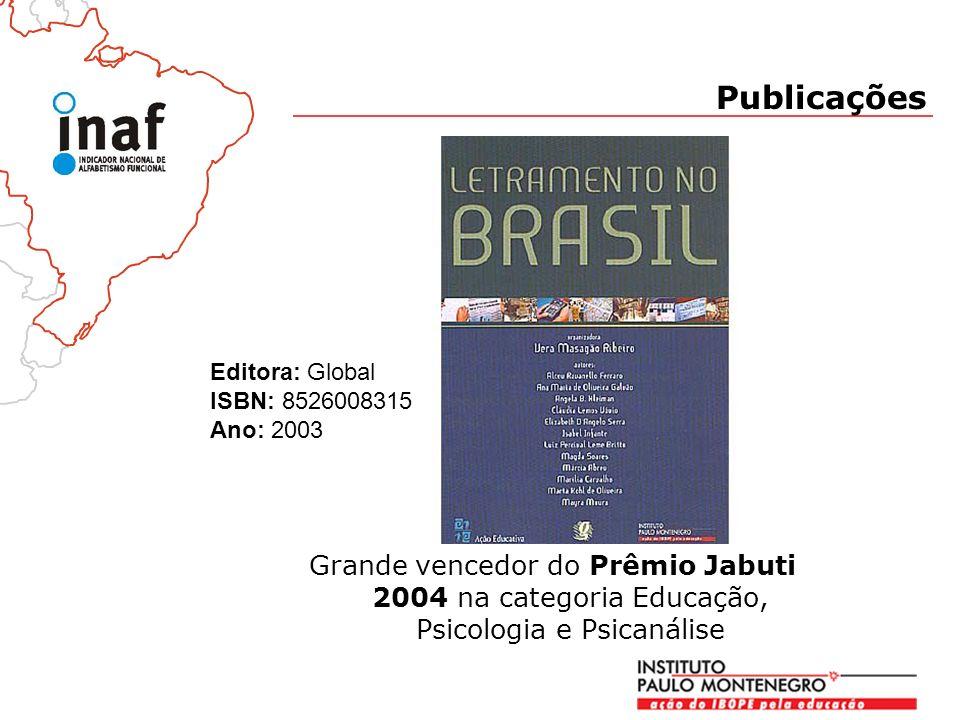 Publicações Editora: Global ISBN: 8526008315 Ano: 2003.