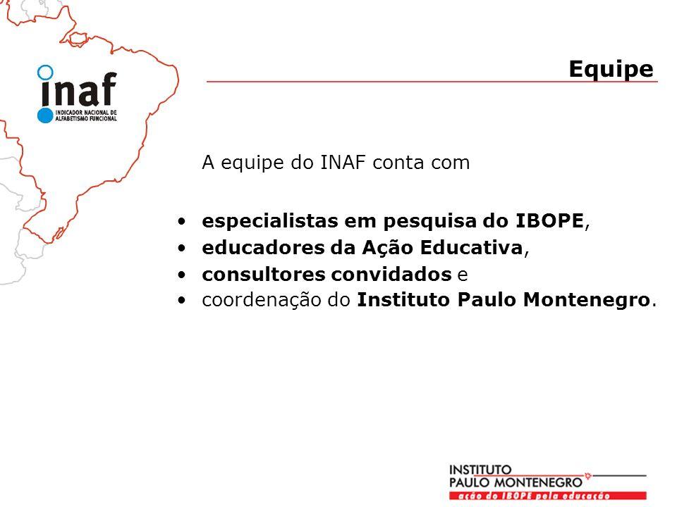 A equipe do INAF conta com