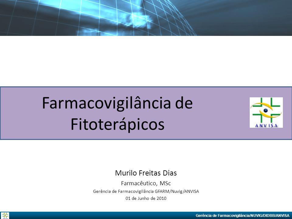 Farmacovigilância de Fitoterápicos