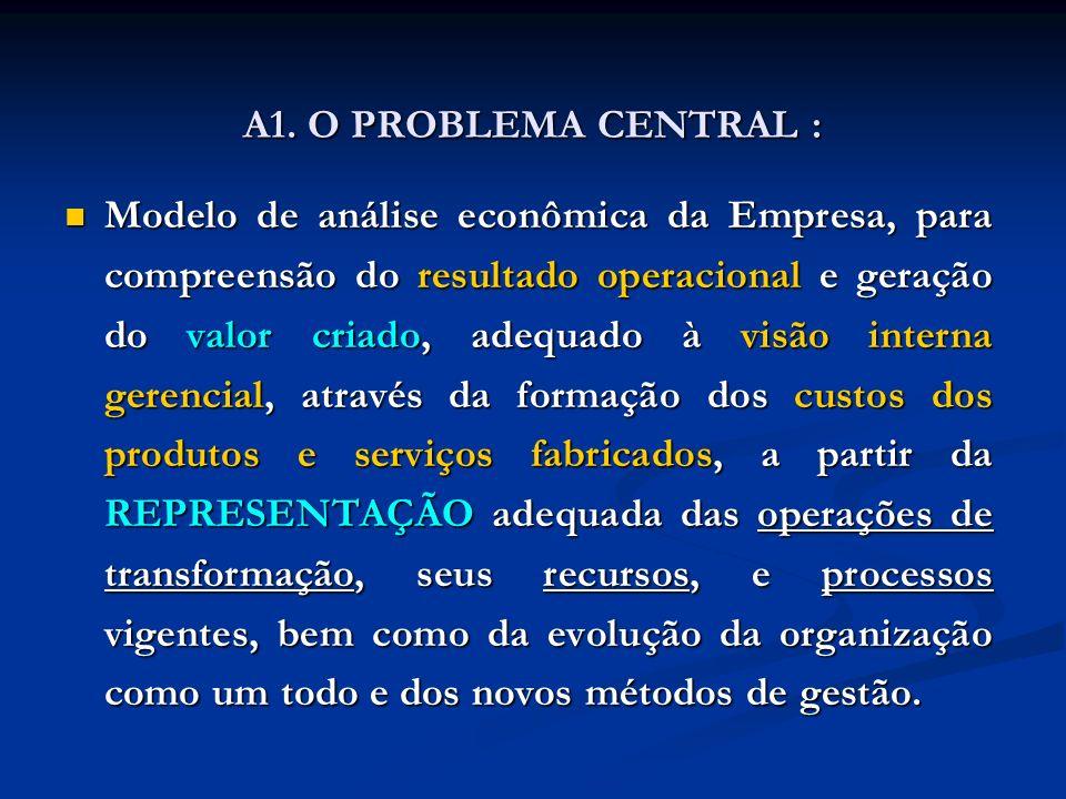 A1. O PROBLEMA CENTRAL :