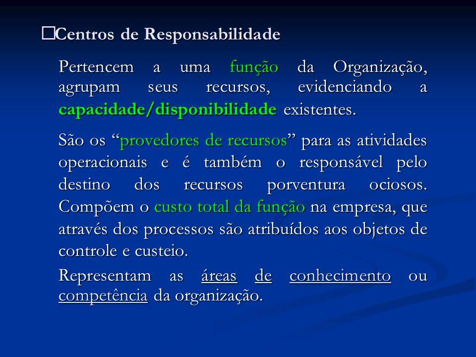Centros de Responsabilidade