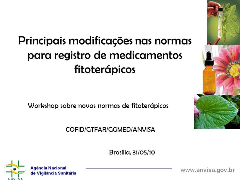 Workshop sobre novas normas de fitoterápicos