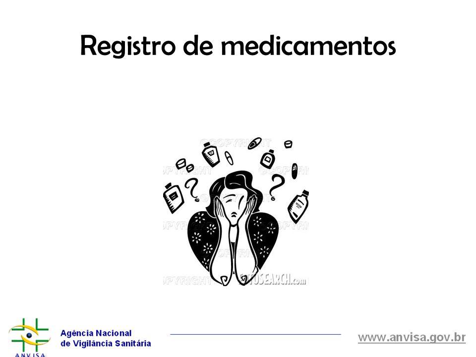 Registro de medicamentos