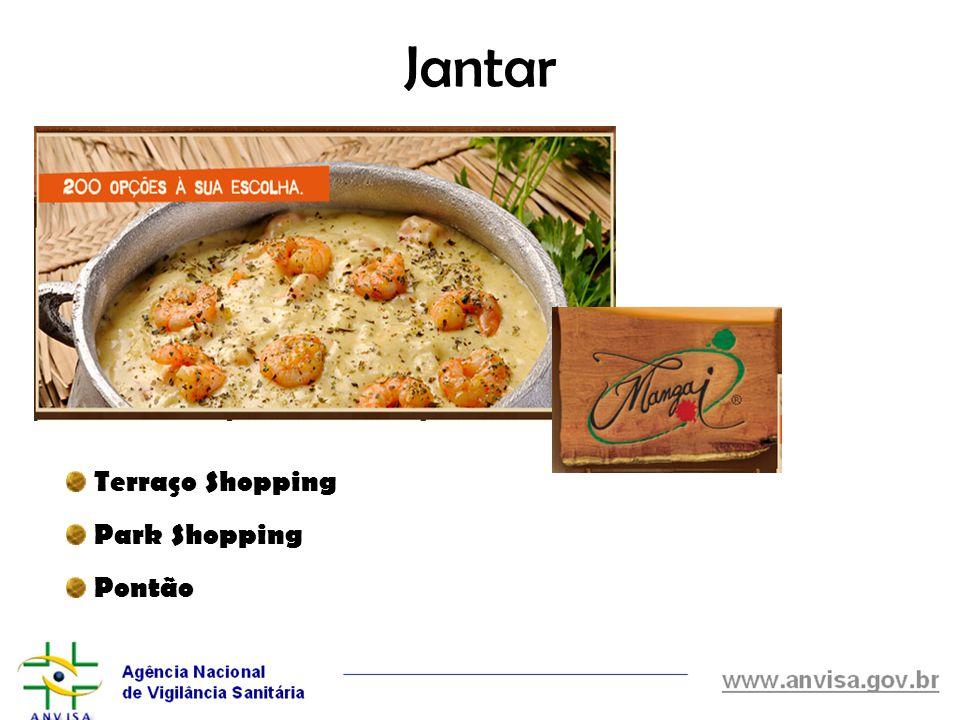Jantar Terraço Shopping Park Shopping Pontão