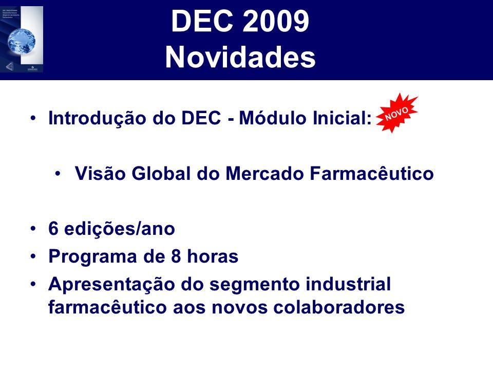 DEC 2009 Novidades Introdução do DEC - Módulo Inicial: