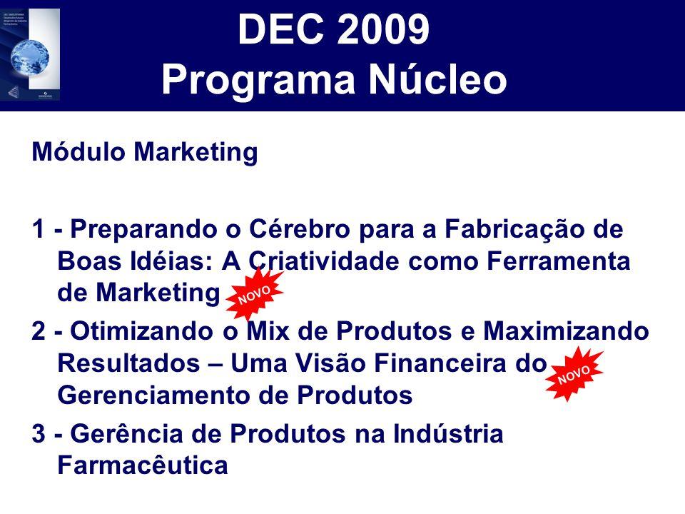 DEC 2009 Programa Núcleo Módulo Marketing