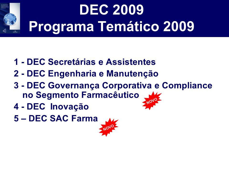 DEC 2009 Programa Temático 2009 1 - DEC Secretárias e Assistentes