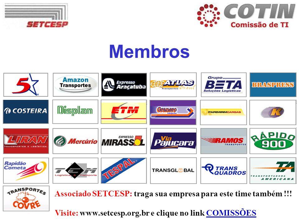 Membros Associado SETCESP: traga sua empresa para este time também !!!