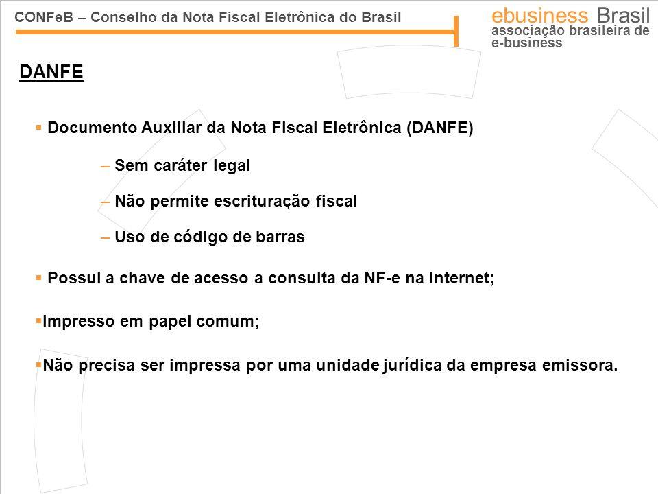 DANFE Documento Auxiliar da Nota Fiscal Eletrônica (DANFE)