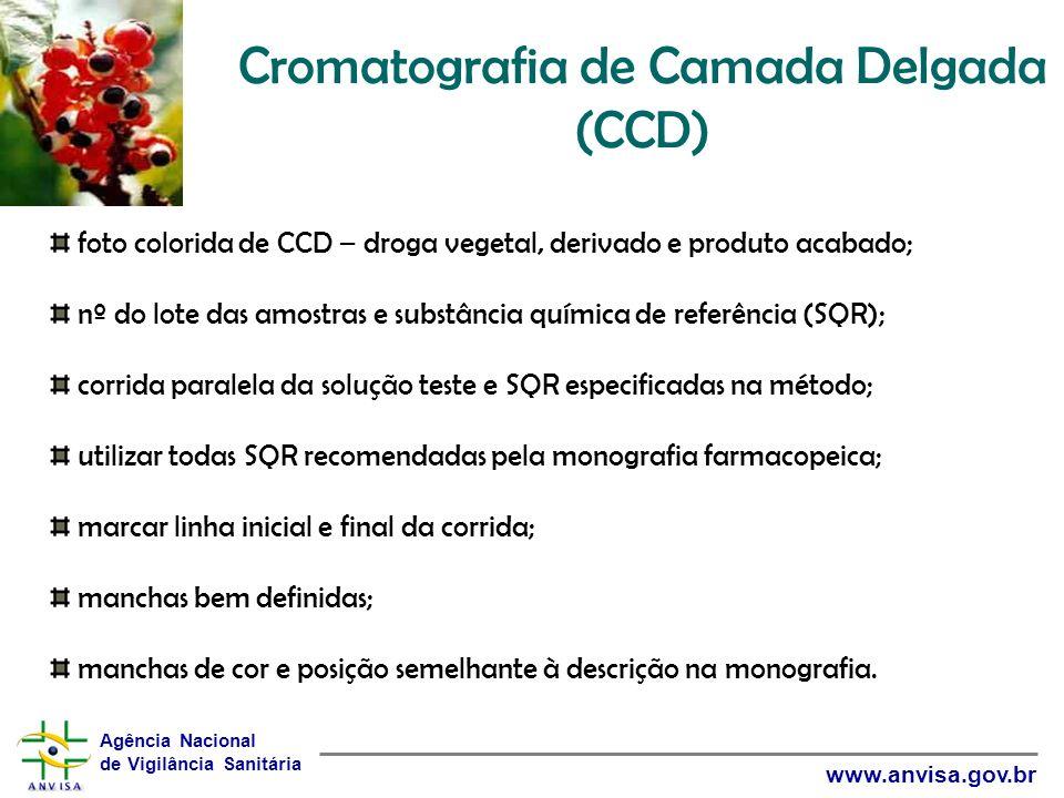 Cromatografia de Camada Delgada (CCD)