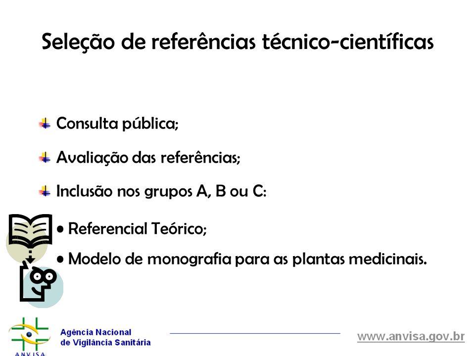 Seleção de referências técnico-científicas
