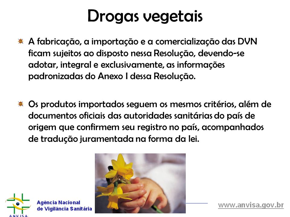 Drogas vegetais