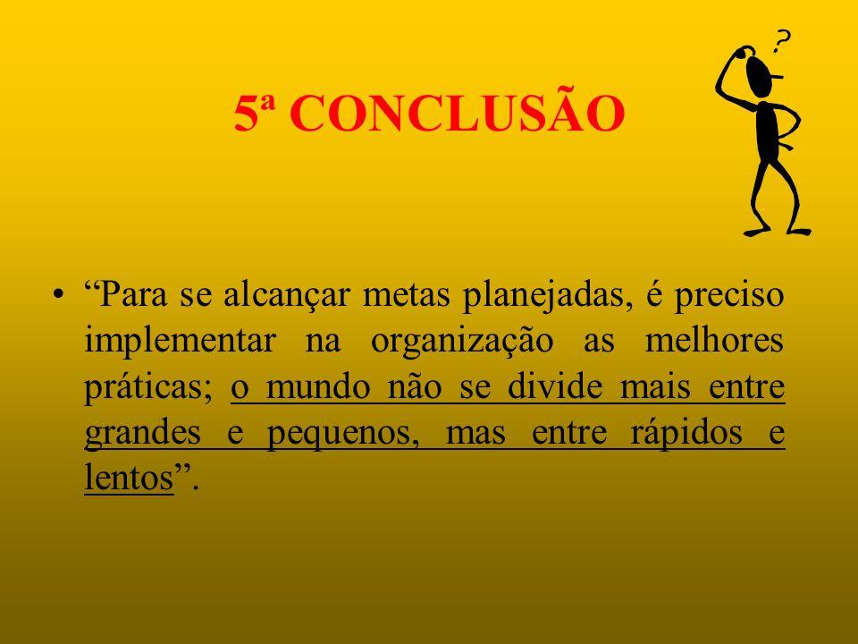 5ª CONCLUSÃO