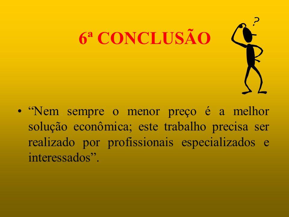 6ª CONCLUSÃO