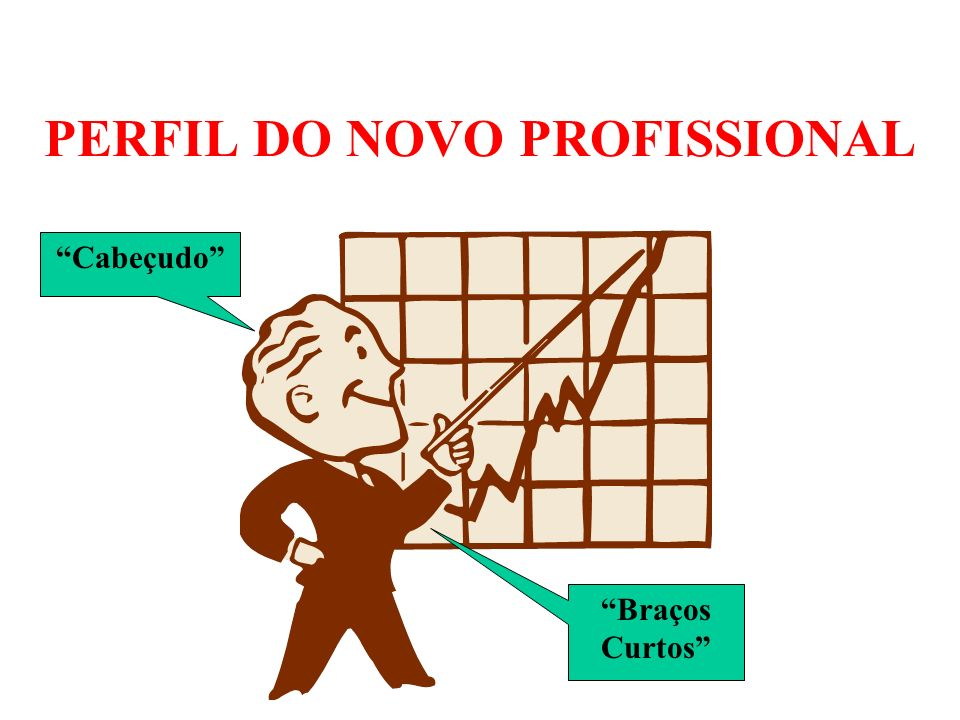 PERFIL DO NOVO PROFISSIONAL