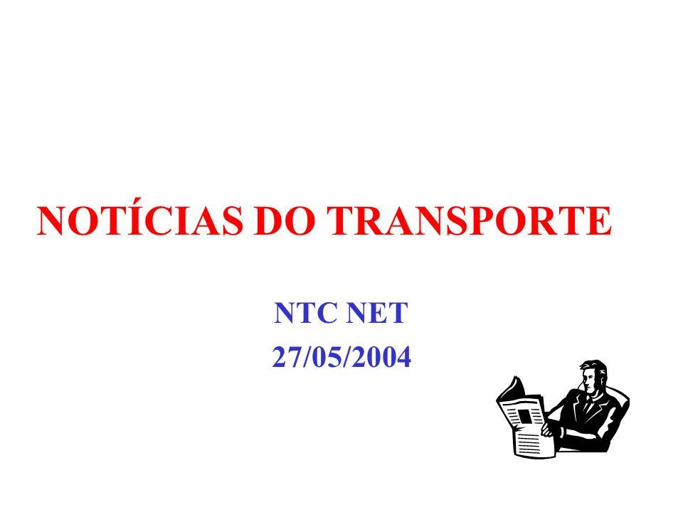 NOTÍCIAS DO TRANSPORTE