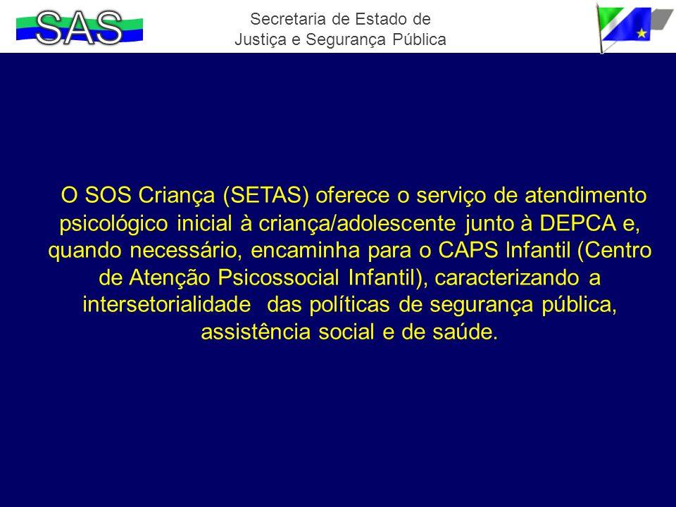 Secretaria de Estado de Justiça e Segurança Pública