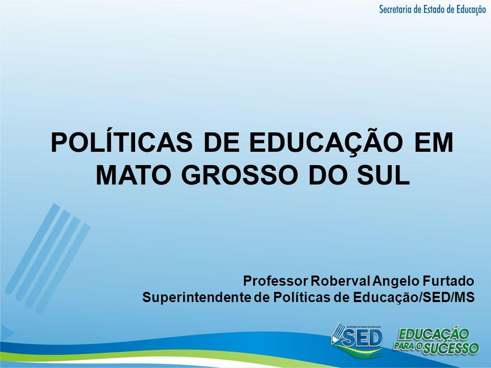 POLÍTICAS DE EDUCAÇÃO EM