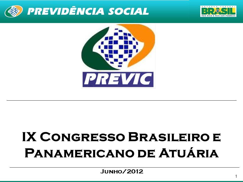 IX Congresso Brasileiro e Panamericano de Atuária