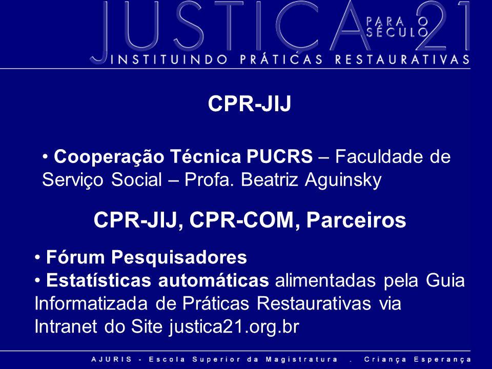 CPR-JIJ, CPR-COM, Parceiros