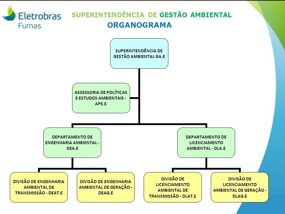 SUPERINTENDÊNCIA DE GESTÃO AMBIENTAL