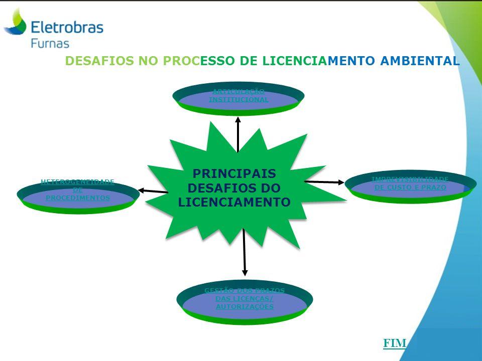 DESAFIOS NO PROCESSO DE LICENCIAMENTO AMBIENTAL