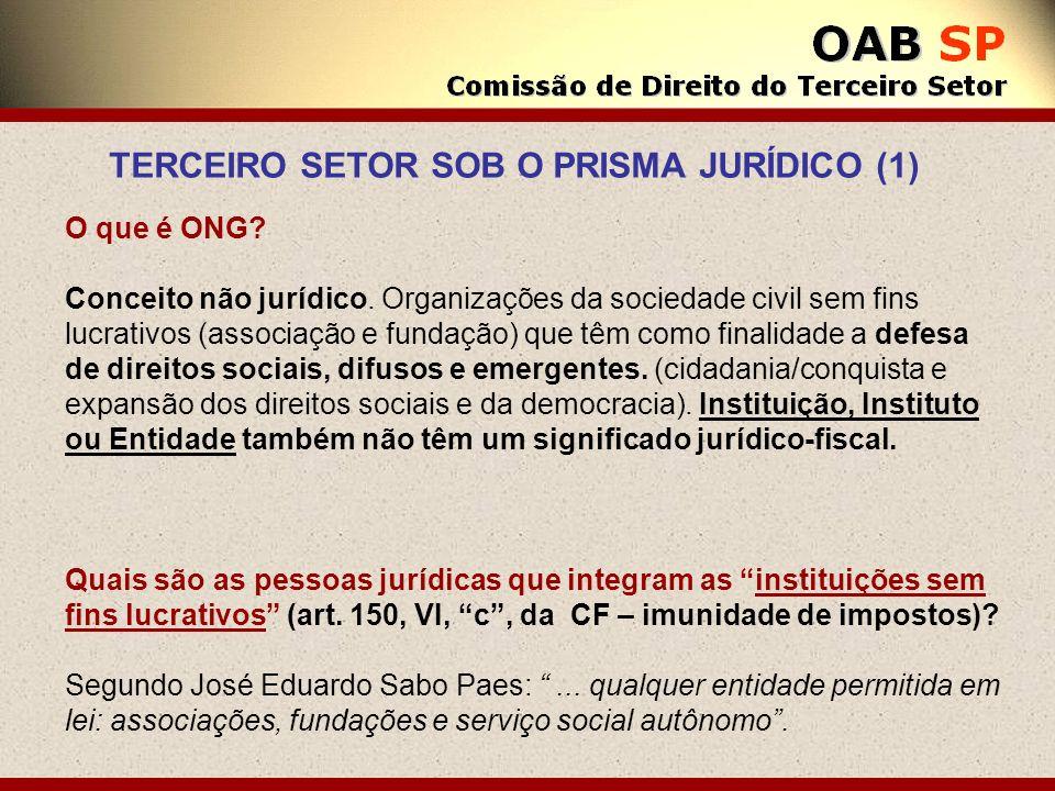 TERCEIRO SETOR SOB O PRISMA JURÍDICO (1)