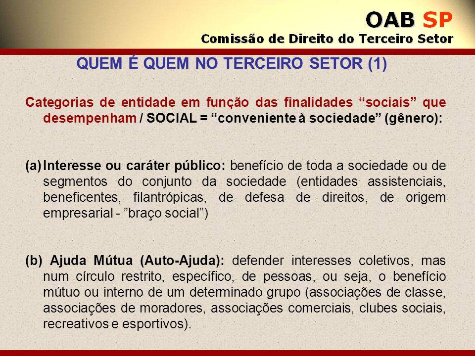 QUEM É QUEM NO TERCEIRO SETOR (1)