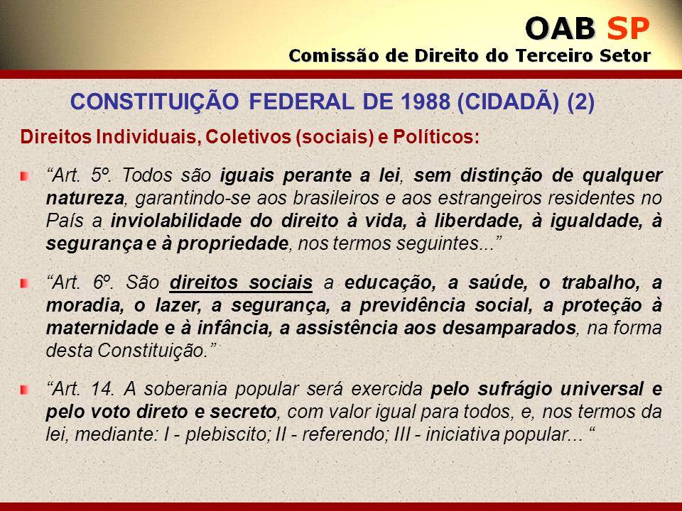 CONSTITUIÇÃO FEDERAL DE 1988 (CIDADÃ) (2)