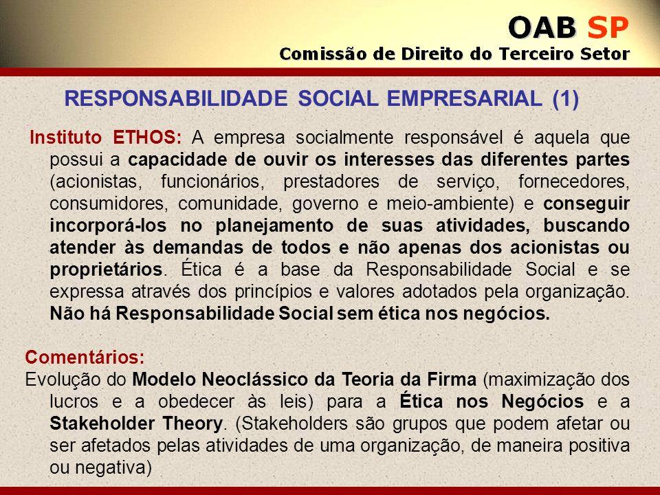 RESPONSABILIDADE SOCIAL EMPRESARIAL (1)