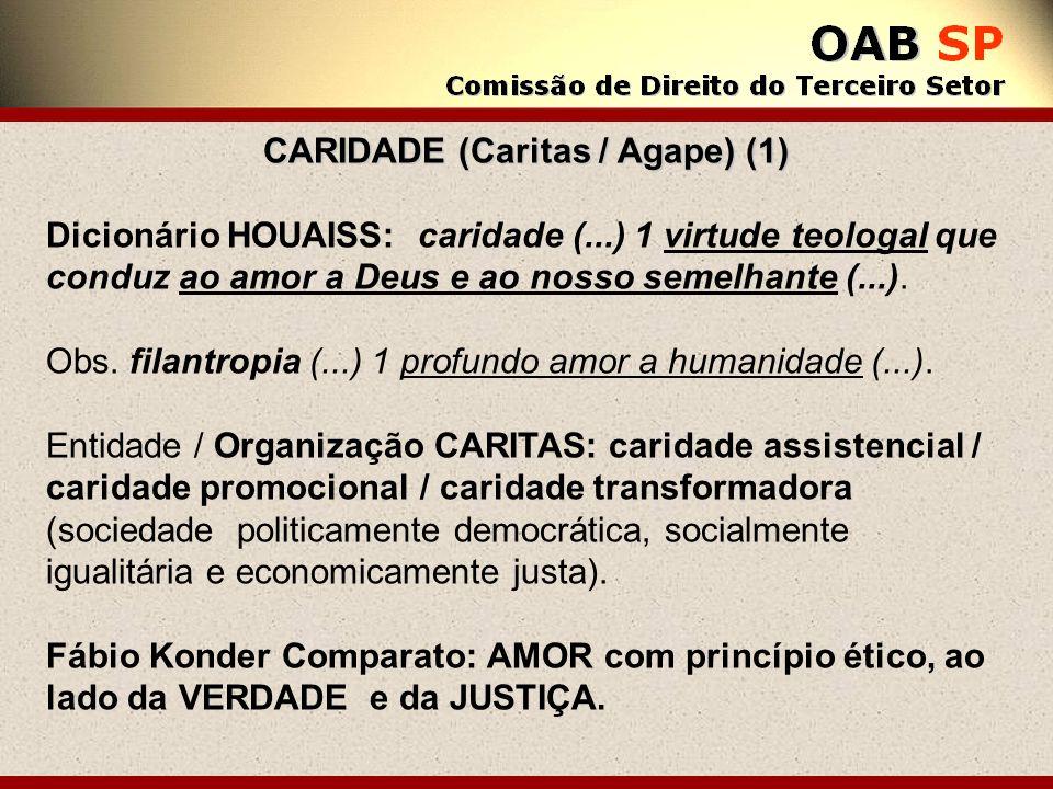 CARIDADE (Caritas / Agape) (1)