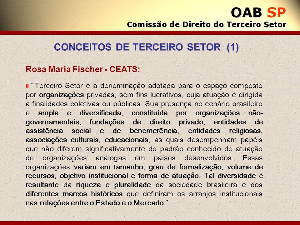 CONCEITOS DE TERCEIRO SETOR (1)