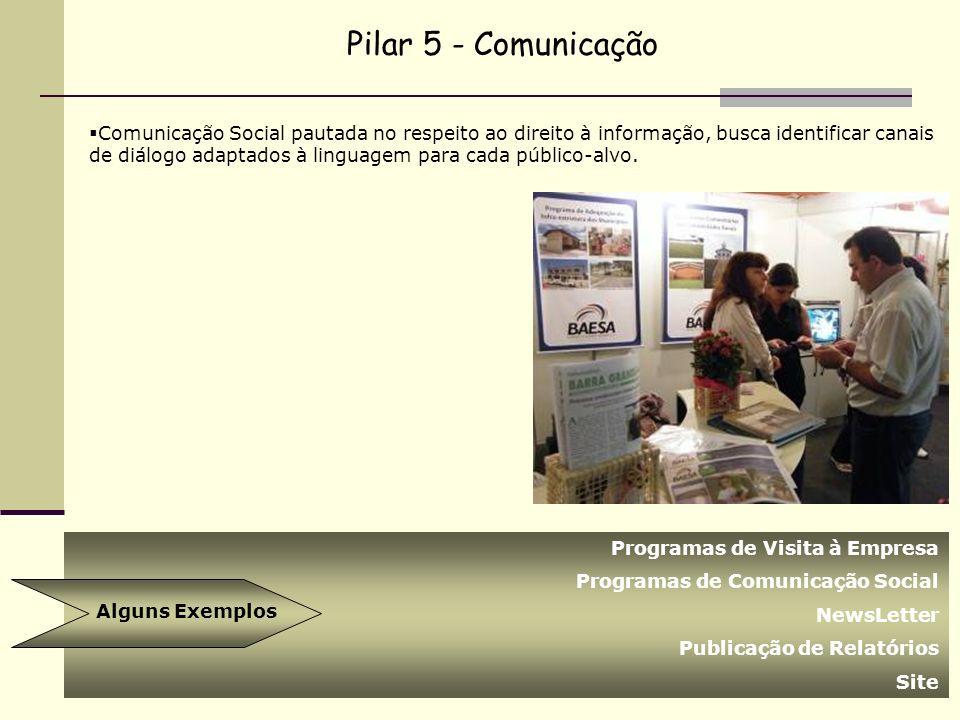 Pilar 5 - Comunicação