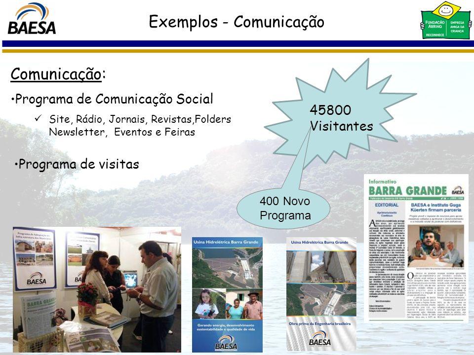 Exemplos - Comunicação