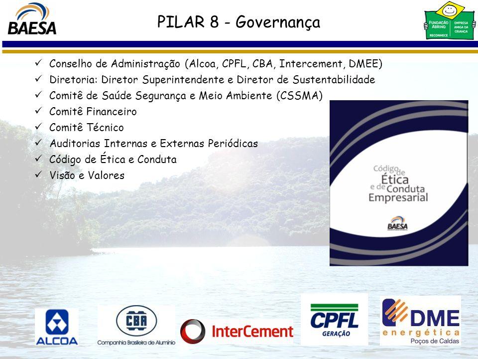 PILAR 8 - Governança Conselho de Administração (Alcoa, CPFL, CBA, Intercement, DMEE)