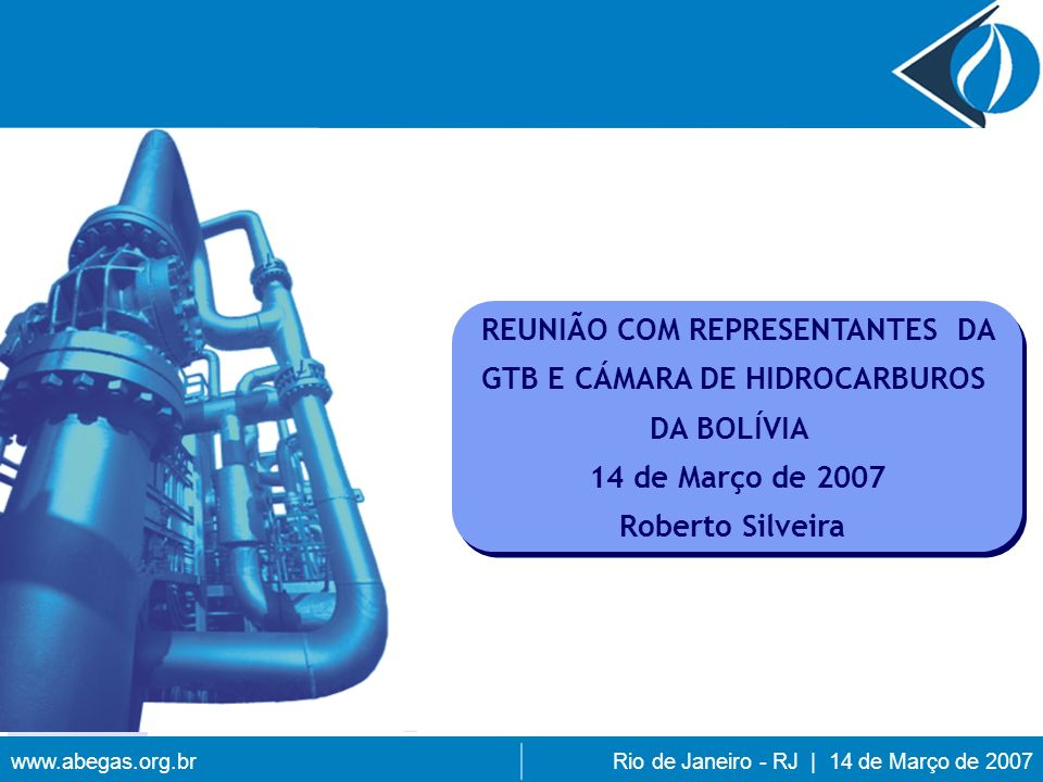 REUNIÃO COM REPRESENTANTES DA GTB E CÁMARA DE HIDROCARBUROS