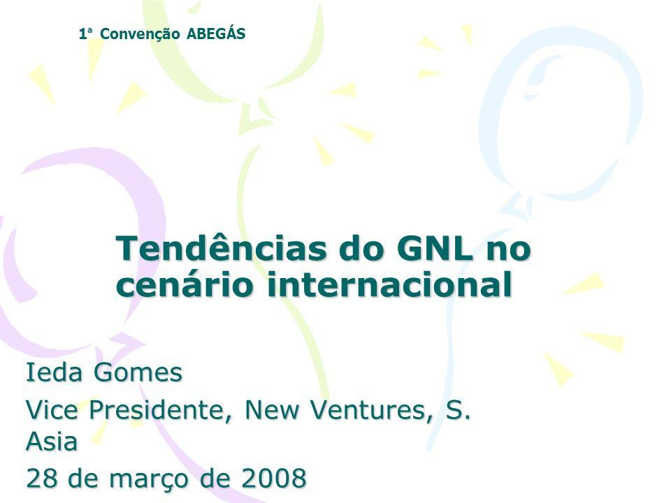 Tendências do GNL no cenário internacional